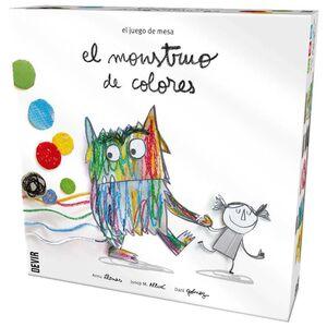 EL MONSTRUO DE COLORES (DEVIR)