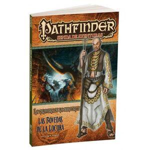 PATHFINDER JDR LA CALAVERA DE LA SERPIENTE 4: LAS BOVEDAS DE LA LOCURA