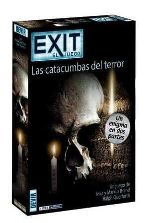 EXIT EL JUEGO 09 LAS CATACUMBAS DEL TERROR: UN ENIGMA EN DOS PARTES
