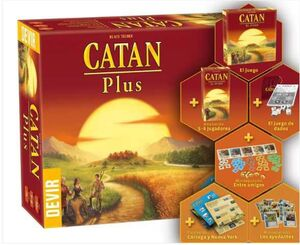 COLONOS DE CATAN PLUS EDICION 2019