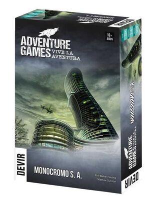 ADVENTURE GAMES - MONOCROMO SA