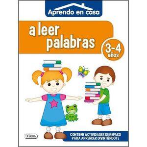 APRENDO EN CASA (3-4 AÑOS) A LEER PALABRAS