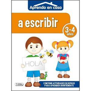 APRENDO EN CASA (3-4 AÑOS) A ESCRIBIR