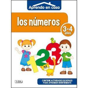 APRENDO EN CASA (3-4 AÑOS) LOS NUMEROS