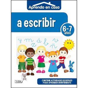 APRENDO EN CASA (6-7 AÑOS) A ESCRIBIR