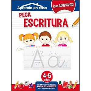 APRENDO EN CASA (4-5 AÑOS) PEGA ESCRITURA