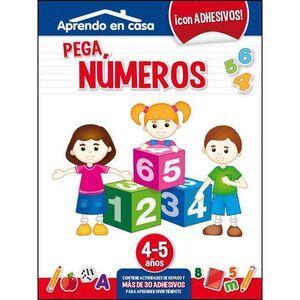 APRENDO EN CASA (4-5 AÑOS) PEGA NUMEROS