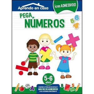 APRENDO EN CASA (5-6 AÑOS) PEGA NUMEROS
