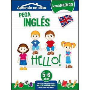 APRENDO EN CASA (5-6 AÑOS) PEGA INGLES HELLO!