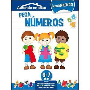 APRENDO EN CASA (6-7 AÑOS) PEGA NUMEROS