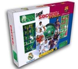 TOTAL SOCCER SET REAL MADRID - BARCELONA
