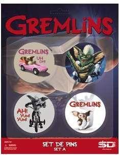 (NEX) GREMLINS SET A DE 4 PINS GREMLINS