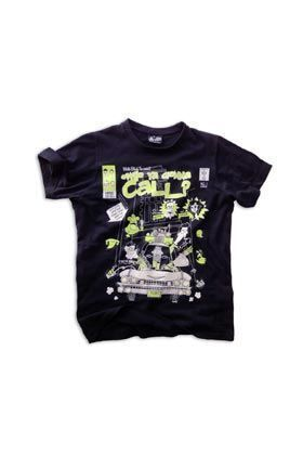 MISTER BLACK TEE GONNA CALL CAMISETA NEGRA UNISEX T-L