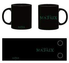 THE MATRIX LOGO TAZA CERAMICA MATRIX