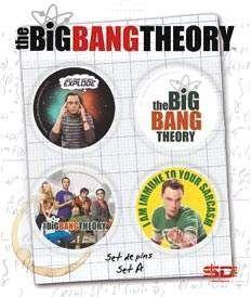 THE BIG BANG THEORY SET A DE 4 PINS TBBT