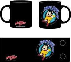 SUPER RATON TAZA NEGRA MIGHTY MOUSE IN ON HIS WAY