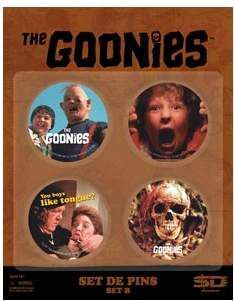 (NEX) THE GOONIES SET B DE 4 PINS THE GOONIES
