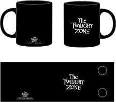 THE TWILIGHT ZONE TAZA NEGRA LOGO