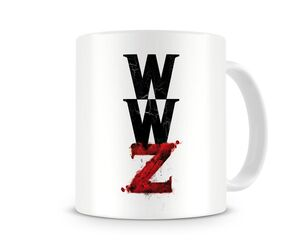 WORLD WAR Z LOGO TAZA CERAMICA