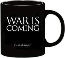 JUEGO DE TRONOS TAZA WAR IS COMING