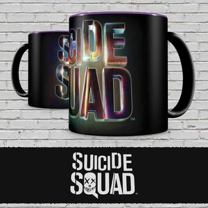ESCUADRON SUICIDA TAZA LOGO SUICIDE SQUAD