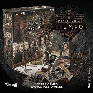 EL MINISTERIO DEL TIEMPO - JUEGO DE MESA