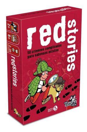 BLACK STORIES: RED STORIES