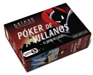 BATMAN. POKER DE VILLANOS