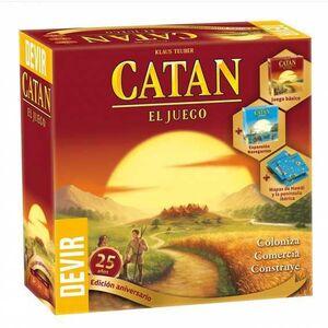 COLONOS DE CATAN EDCION 25 ANIVERSARIO