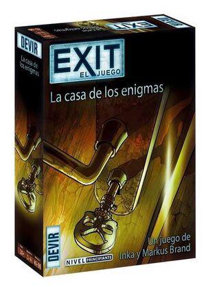 EXIT EL JUEGO 12: LA CASA DE LOS ENIGMAS