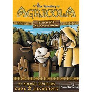 AGRICOLA 2 JUGADORES. EDIFICIOS EN LA GRANJA (EXPANSION)