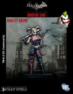 BATMAN MINIATURE GAME: HARLEY QUINN