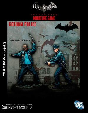 BATMAN MINIATURE GAME: GOTHAM POLICE SET