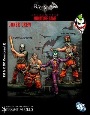 BATMAN MINIATURE GAME: JOKER CREW
