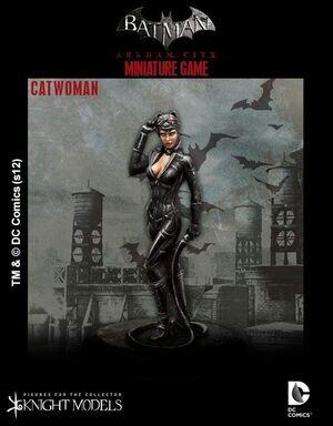 BATMAN MINIATURE GAME: CATWOMAN