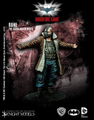 BATMAN MINIATURE GAME: BANE THE DARK KNIGHT RISES