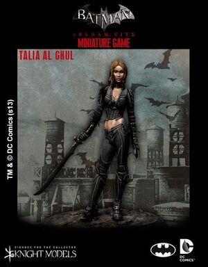 BATMAN MINIATURE GAME: TALIA AL GHUL