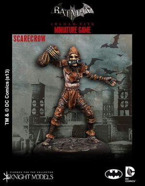 BATMAN MINIATURE GAME: SCARECROW
