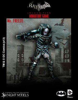 BATMAN MINIATURE GAME: MR. FREEZE
