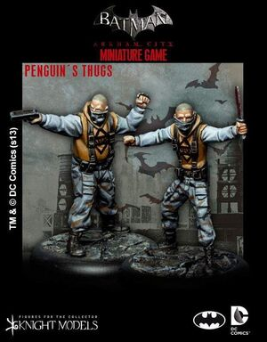 BATMAN MINIATURE GAME: PENGUIN´S THUGS
