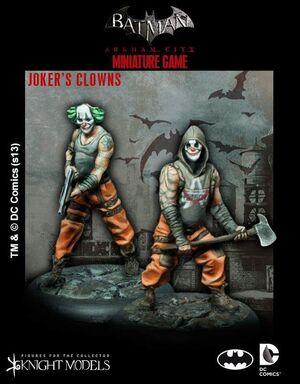 BATMAN MINIATURE GAME: JOKER'S CLOWNS