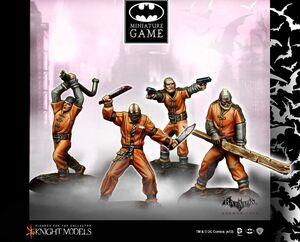 BATMAN MINIATURE GAME: BLACKGATE PRISSONERS