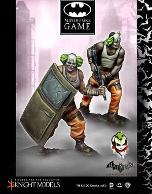 BATMAN MINIATURE GAME: JOKER'S CLOWNS II