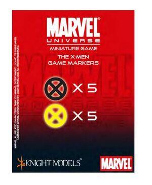 MARVEL UNIVERSE MINIATURE GAME: X-MEN MARKERS