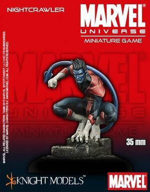 MARVEL UNIVERSE MINIATURE GAME: NIGHTCRAWLER