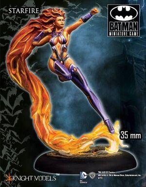 BATMAN MINIATURE GAME: STARFIRE (KNIGHT MODELS)