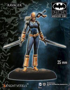 BATMAN MINIATURE GAME: RAVAGER (KNIGHT MODELS)