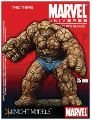 MARVEL UNIVERSE MINIATURE GAME: THE THING