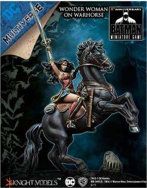 BATMAN MINIATURE GAME: WONDER WOMAN ON WAR HORSE