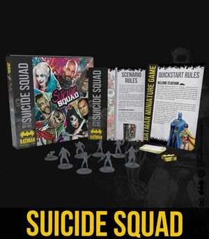 BATMAN MINIATURE GAME: BAT-BOX. SUICIDE SQUAD (KNIGHT MODELS)